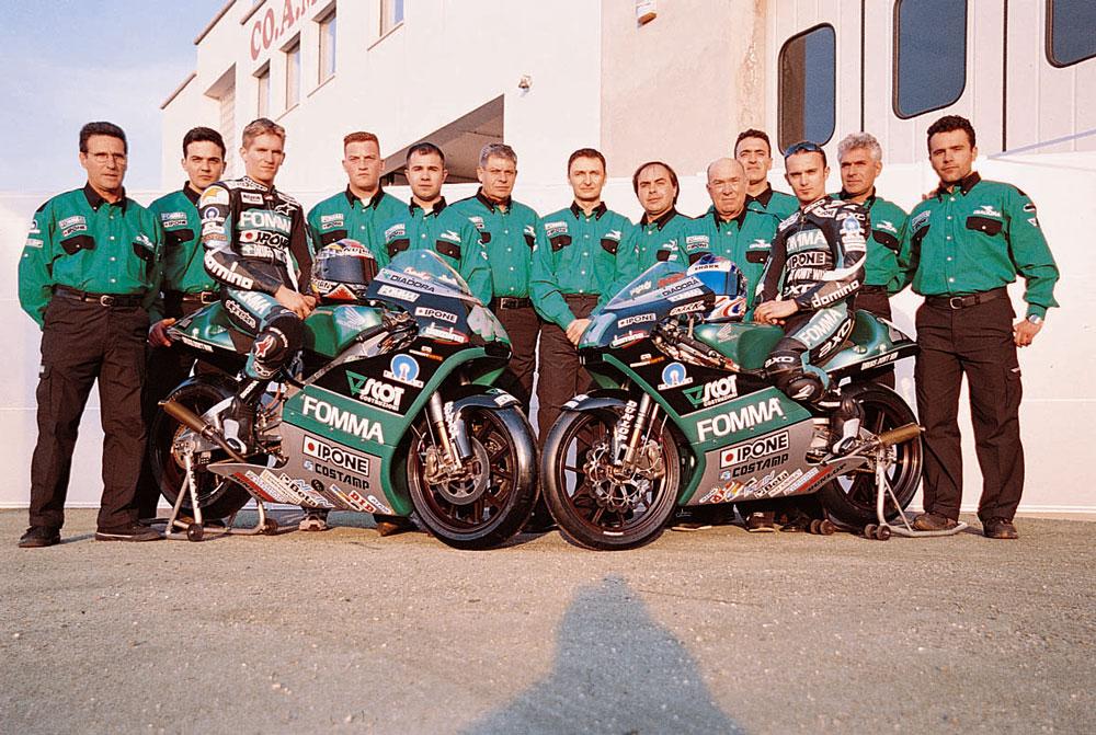 Team Fomma San Patrignano 2001