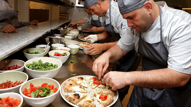 La pizzeria Spaccio di San Patrignano