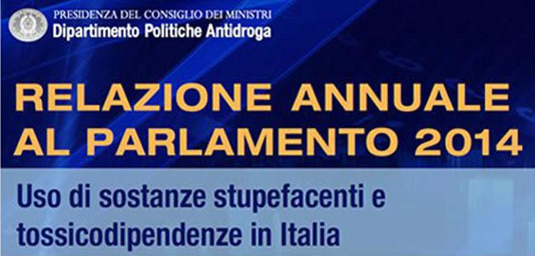 Relazione Parlamento sulle tossicodipendenze San Patrignano