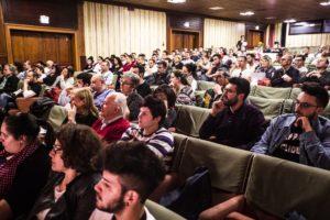i ragazzi presenti al workshop di Luigi Biasetto svolto a san patrignano