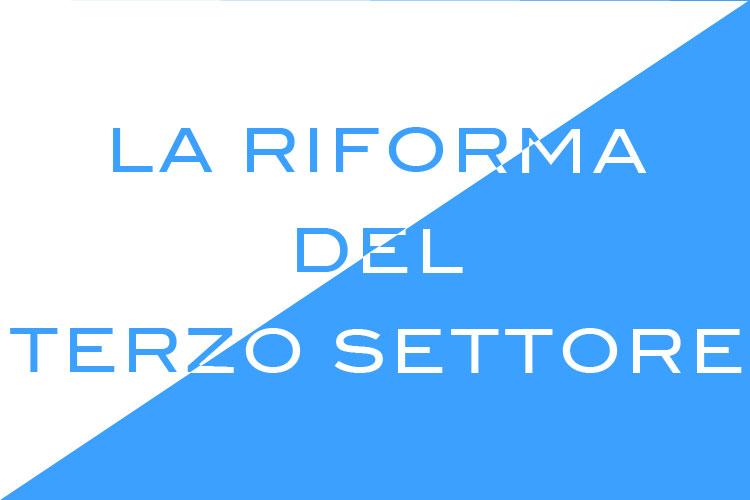 La riforma del terzo settore - San Patrignano