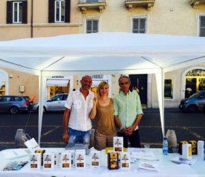 roma in piazza con san patrignano