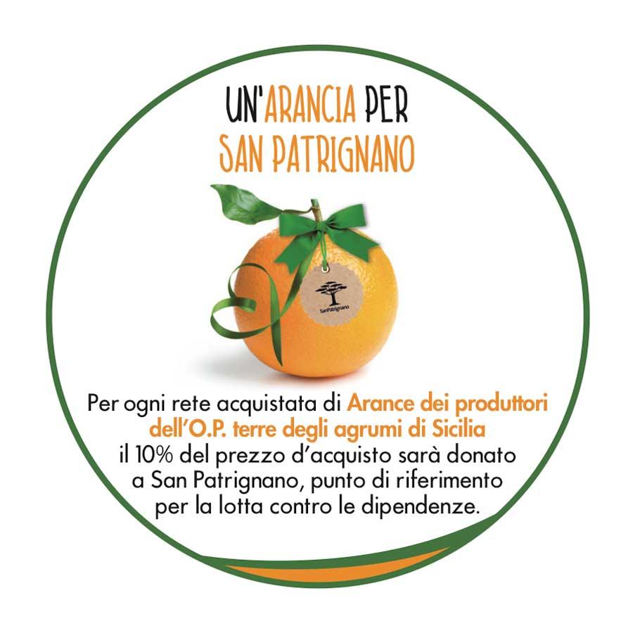 Un arancia per San Patrignano