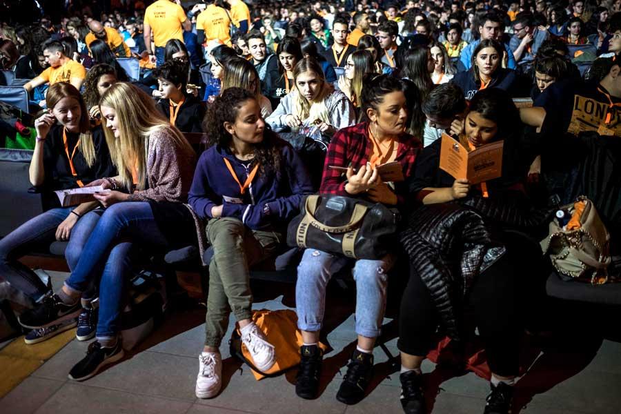 Dibattito fra ragazzi San Patrignano e studenti ITI - WeFree