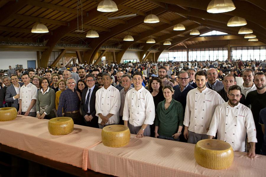 Consorzio Parmigiano Reggiano a SanPatrignano