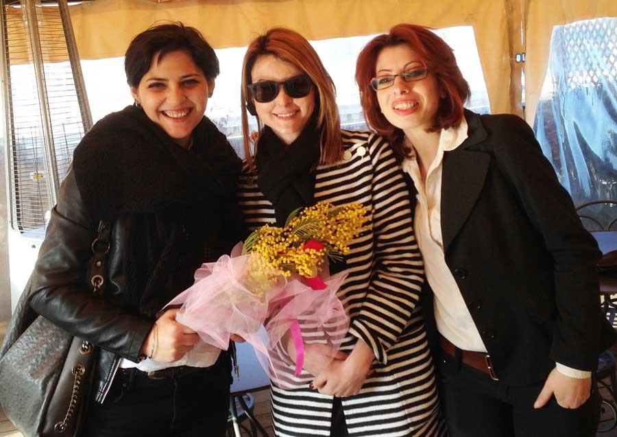 Festa della donna - Gessica Notaro e Lucia Annibali e San Patrignano - Roma