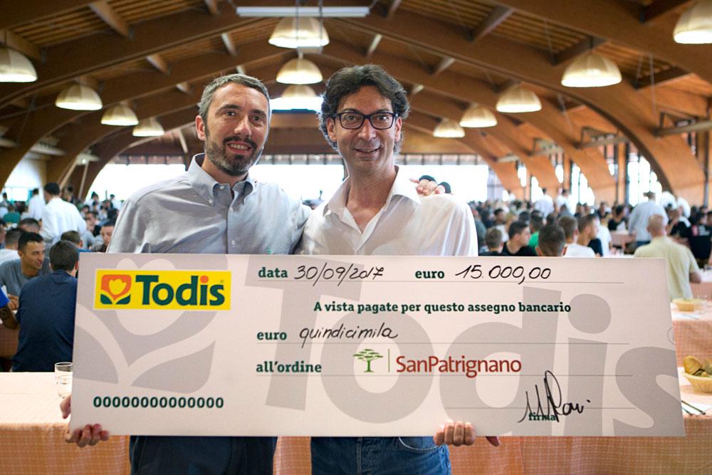 Todis per San Patrignano - Tinelli