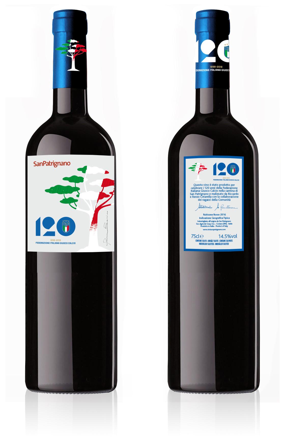FIGC festeggia 120 anni San Patrignano
